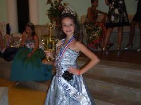 "A Bulgarian girl – ""Miss Beauty"" in the Dominican Republic"