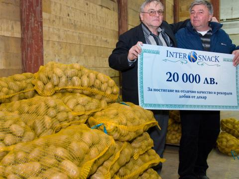 Intersnack will invest 20 million leva in Bulgarian potato production