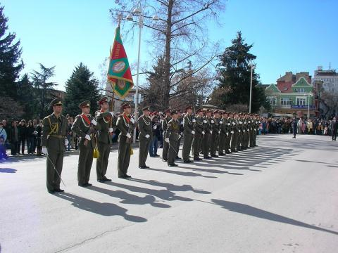 The Bulgarian army will participate in the ceremony for the National holiday