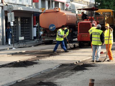 Numerous repairs begin on Sofia streets
