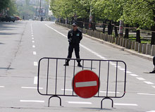 Protests and closed streets block Sofia during the energetics forum