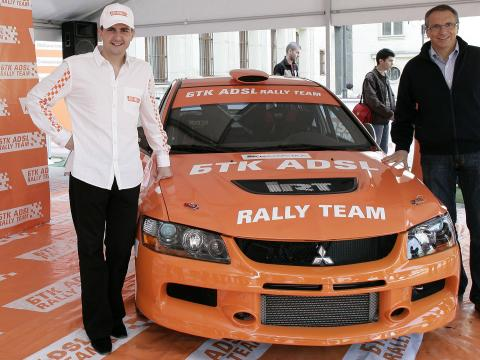 BTC ADSL Rally Team is the new team of the champion Dimitar Iliev