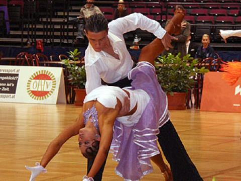 Sliven hosts an international tournament for dance sports