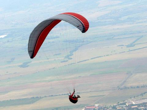 Bulgaria takes first place in the paragliding championship