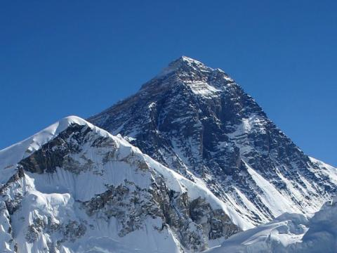 Bulgarian woman climbs Everest