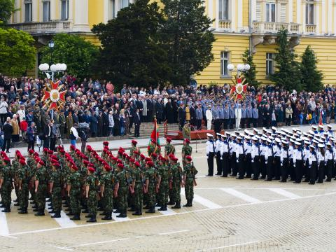 Foreign brass orchestras will participate in this year's military parade for St. George's day