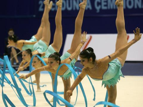 The female ensemble of Bulgaria wins silver medal