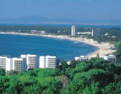 Hotels in the Sunny beach – almost 100% full