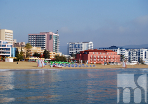 A large part of the hotels in the Sunny beach are functional