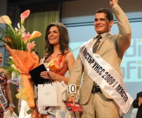 """Ms. and Mr. UNSS 2009"" were chosen"