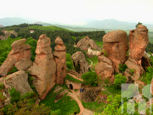 The rock formations of Belogradchik - presented in Serbia