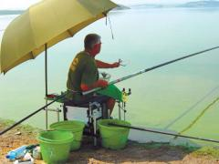 "17 fishermen are competing at the lake ""Iskar"""