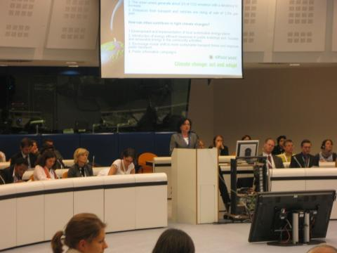 Burgas presents the Bulgarian municipalities at an ecoforum in Brussels