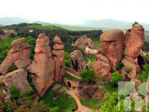 The rocks near Belogradchik will be used as a movie backdrop