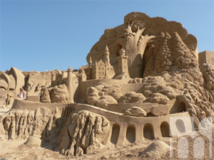 Boney M open the Festival of sand sculptures in Burgas