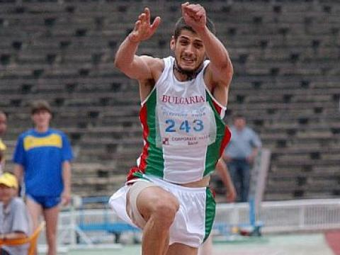 Three titles in the first day of the International military athletics championship