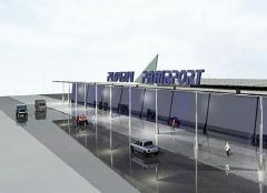 The new terminal of the Plovdiv airport - functional in August