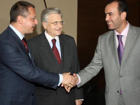 Jean-Claude Trichet visits Bulgaria