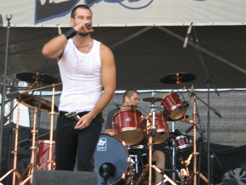 D2 jam at the Rock N Coke 2009 festival