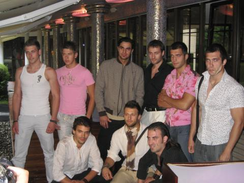 Jeni Kalkandjieva chose the finalists of Mister Bulgaria World 2009