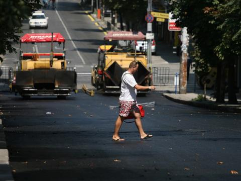 Major renovation of the streets of Sofia begins