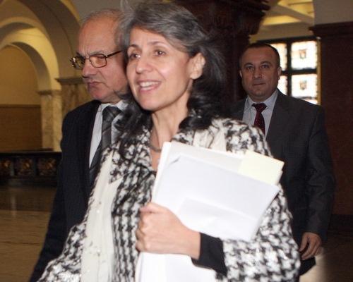 Bulgaria's new justice minister Margarita Popova