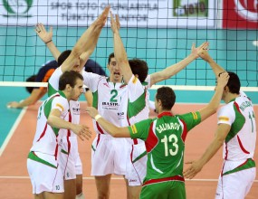 The Bulgarian volleyball team reaches the semi-finals