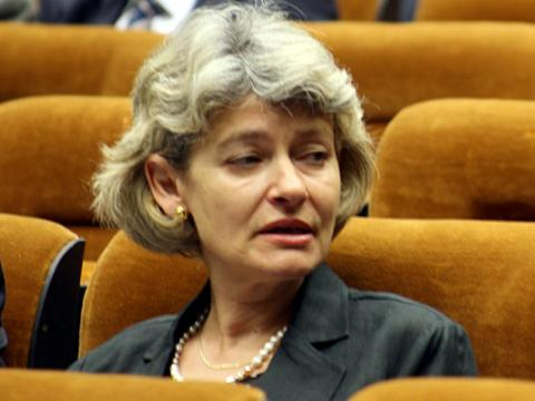 Irina Bokova is the new director of UNESCO